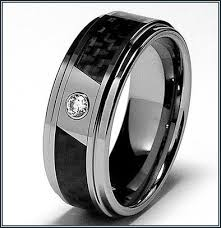 mens black wedding rings really mens black wedding bands with black diamonds more