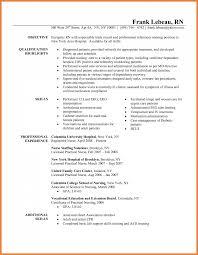 Sample Resume Lpn Objectives by Nursing Resume Objective Pediatric Nurse Resume Objective Httpwww