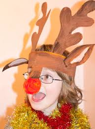children u0027s christmas craft reindeer antlers my little 3 and me