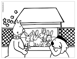 hutch coloring page