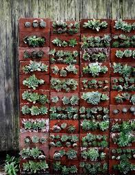 How To Build Vertical Garden - how to build a vertical garden with perforated bricks como