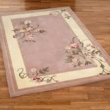 Pink Area Rugs Floral Rugs Touch Of Class