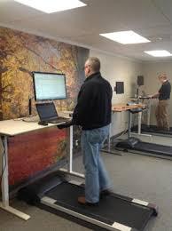 Standing Desk Treadmill Walking At Work Treadmill Desks Soaring In Popularity