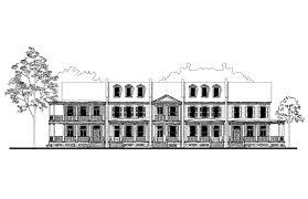 daniels orchard townhouse b house plan 05452b design from