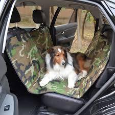 couvre si e 2017 armée camouflage chien pet arrière siège arrière couvre pour
