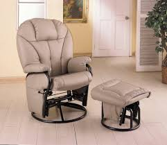 glider rocker with ottoman swivel glider rocker recliner chair ottoman things mag sofa