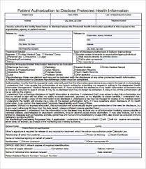 medical records release form 7 free pdf documents download