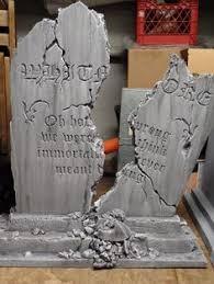 tombstones for outstanding broken cemetery tombstone foam by hf member weaz