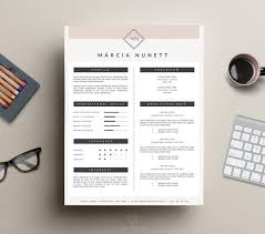 Resume Templates For Word Resume Template For Word By This Paper Fox On Creative