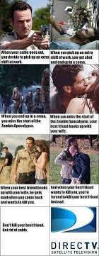 Cable Meme - zombie apocalypse girlfriend directv get rid of cable