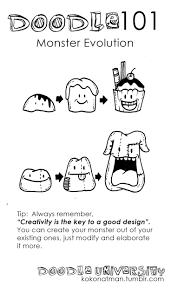Home Design Doodle Book by Best 25 Doodle Monster Ideas On Pinterest Monster Drawing