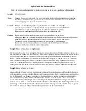 sample student bio