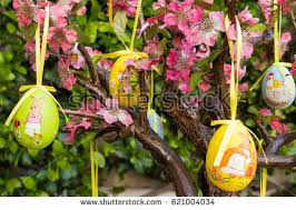 easter egg tree easter egg tree stock images royalty free images vectors