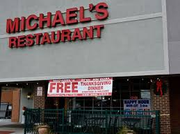 michael s restaurant and bar to host 26th annual free thanksgiving