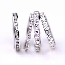 alliance en diamant alliance diamants bague diamant bague mariage or blanc