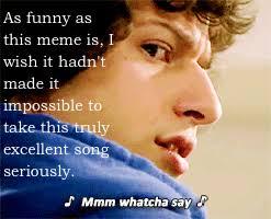 Mmm Whatcha Say Meme - fandomsecrets secret post 3474