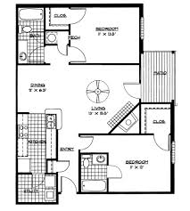 bedroom plan 1st level economical simple traditional storey house