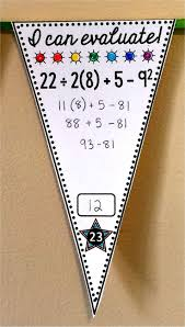 best 10 order of operations ideas on pinterest math fractions