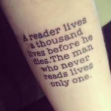 amazing black quote on arm tattoomagz