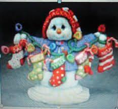 vintage pixie boy tree ornament ceramic bisque a