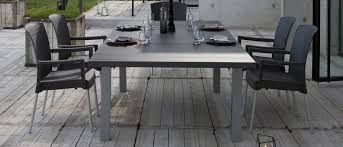 mobilier de jardin italien salon de jardin dînatoire ineo grosfillex