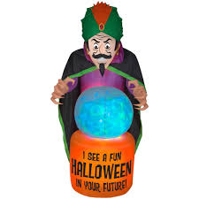 halloween inflatables outdoor halloween decorations the home depot