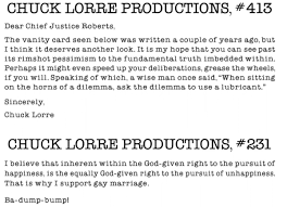chuck lorre productions 413 dear chief justice roberts the