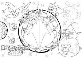 coloring pages of angry birds space angry birds space for