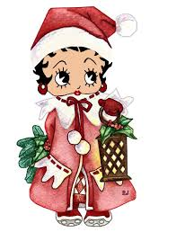 194 best betty boop christmas winter images on pinterest betty