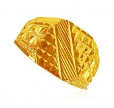 gold ring for men mens gold ring in 22kt 22kt plain gold rings for men without