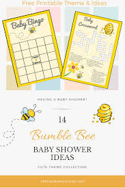 bee baby shower ideas 14 spectacular bumble bee baby shower ideas print my baby shower