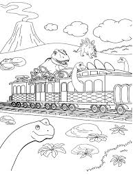 dinosaur train coloring pages 171