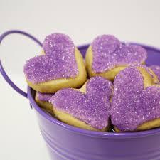 purple gift wrap sugar cookie purple medium superlove cookies