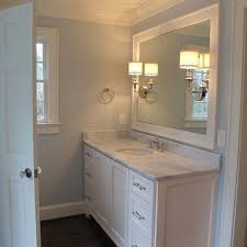 Bathroom Paint Designs Blue Paint Color Transitional Bathroom Benjamin Moore