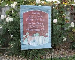 Fall Garden Flag 12x12 Canvas Picture Frame Life U0027s Greatest Blessings
