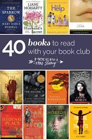 40 great book club novels modern mrs darcy