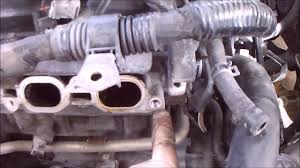 cylinder head removal head gasket failure scion xb part 1 youtube