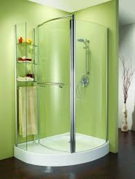Bath Showers Enclosures Small Corner Shower Enclosures Corner Shower Stall Units Shower