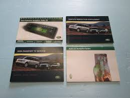 2004 land rover discovery ii 2 l318 owners manual handbook set