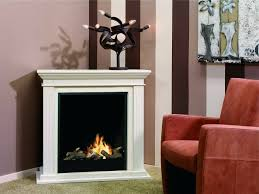 corner traditional freestanding ethanol fireplace surround