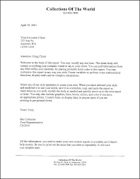 Formal Letter Word Template by Sample Free Form Letter Letter Of Recommendation For Services