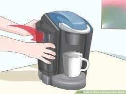 Keurig Descale Light 3 Ways To Prime A Keurig Coffee Maker Wikihow