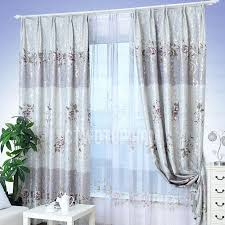 Silver Purple Curtains Silver And Purple Thick Fabric Insulated Blackout Curtains