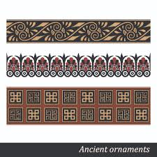 ancient ornament pattern vector 05 vector ornament vector