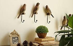 di grazia vintage antique wooden birds shaped wall hook wall