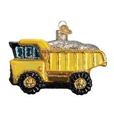 dump truck 44085 old world christmas ornament