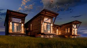 Shack by Nomadic Shack Contemporary Yet Rustic Modular Cabins