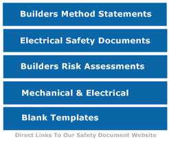 method statement for small building works builders safety