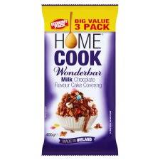 homecook wonder bar milk 450g groceries tesco groceries