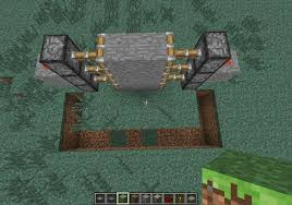 Minecraft How To Make Bathroom How To Create A Hidden Piston Door In Minecraft Minecraft